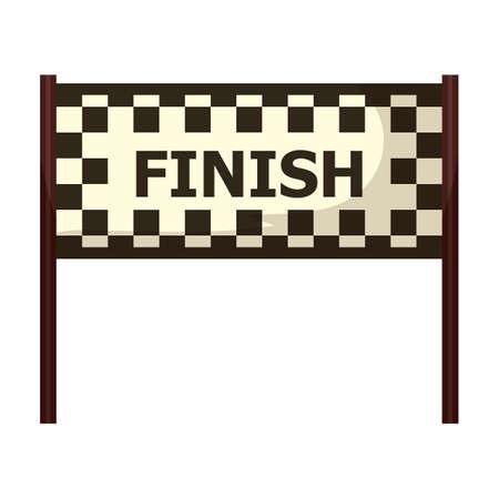 finish: circuit finish line