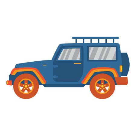 utility: sports utility vehicle Illustration