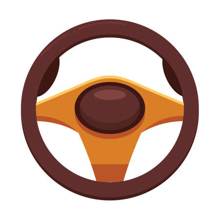 steering: steering wheel Illustration
