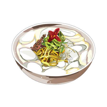 noodle soup: oyster noodle soup