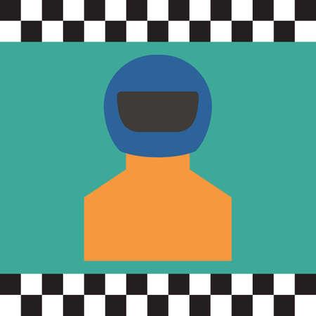 racer: racer Illustration