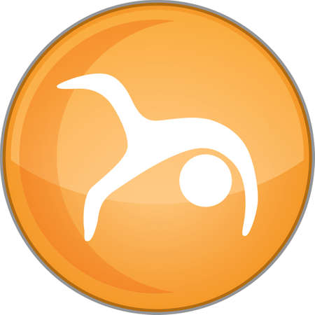ruota di posa di yoga variazione