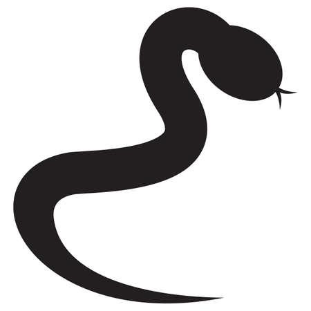 out of shape: silhouette of snake
