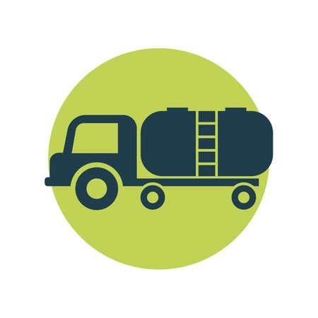camión cisterna: petrolero