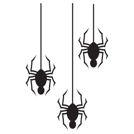 spider web: silhouette of spider web