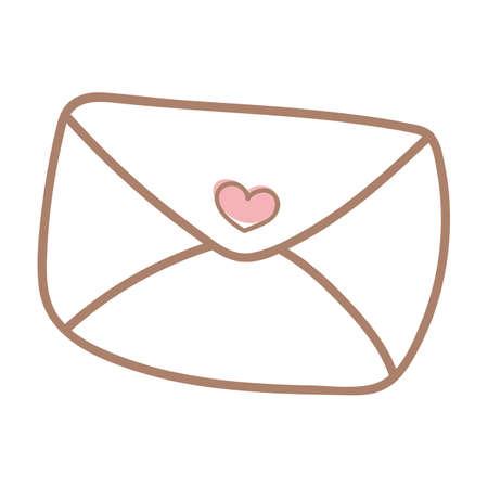 nuptials: invitation envelope