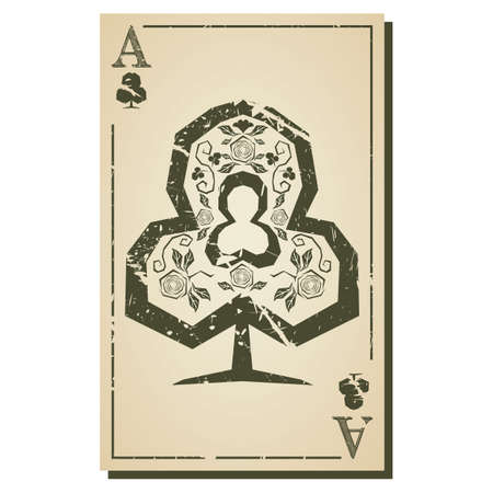 poker card: ace poker card