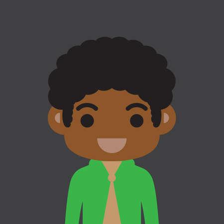 african boy: african boy Illustration