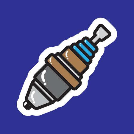 sparking plug: spark plug