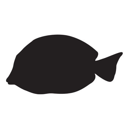 out of shape: silhouette of fish
