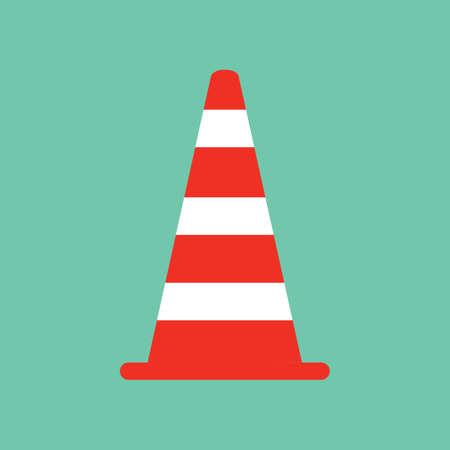 cautioning: traffic cone