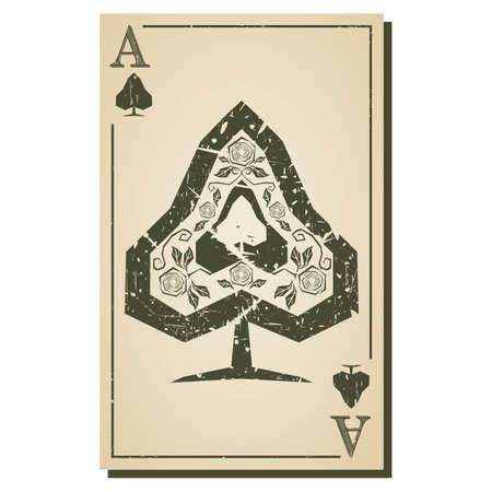 ace: spade ace Illustration