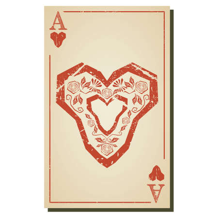 ace: ace of hearts