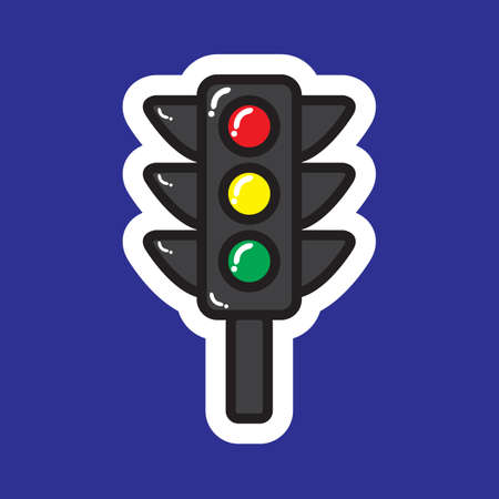 stop and go light: traffic lights