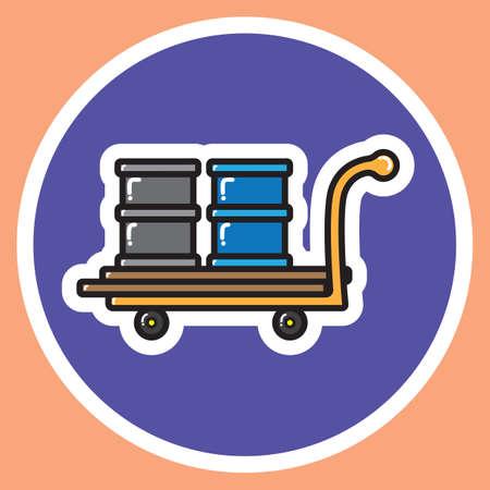 load: load on wheel barrow