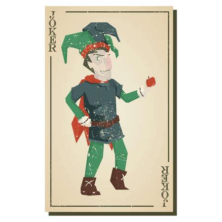 joker card: joker card Illustration