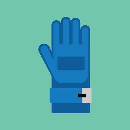 glove: racer glove