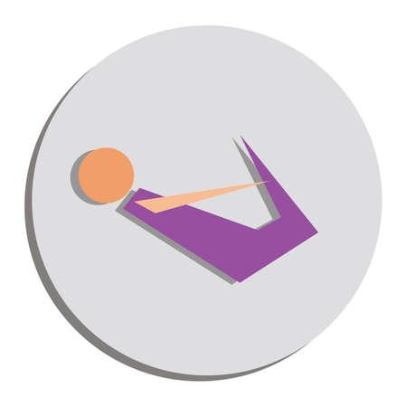 arco posa di yoga