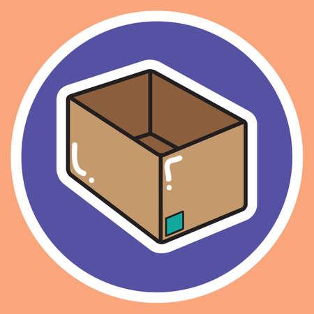 delivery box: empty delivery box