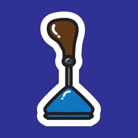 knob: gear shift knob
