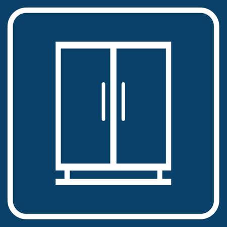 cupboards: cupboard Illustration