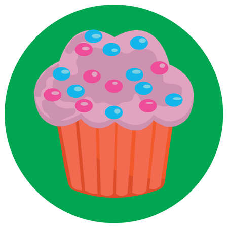 sprinkles: sprinkles cupcake Illustration