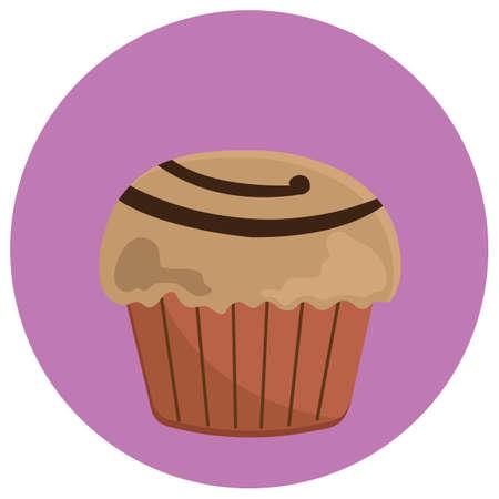 toppings: coffee cupcake