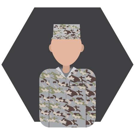 military man: military man