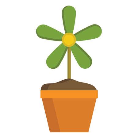 plant pot: plant pot