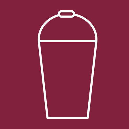 SHAKER: cocktail drink shaker