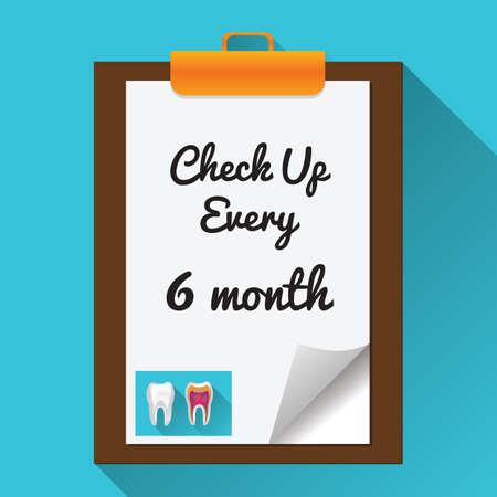 checkup: checkup every 6 months