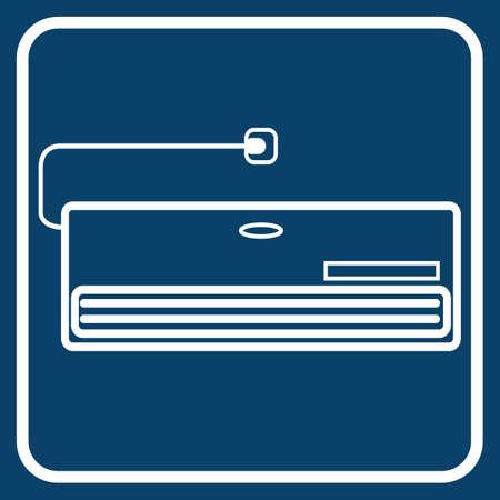 air: air conditioner Illustration
