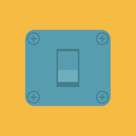switch: power switch Illustration