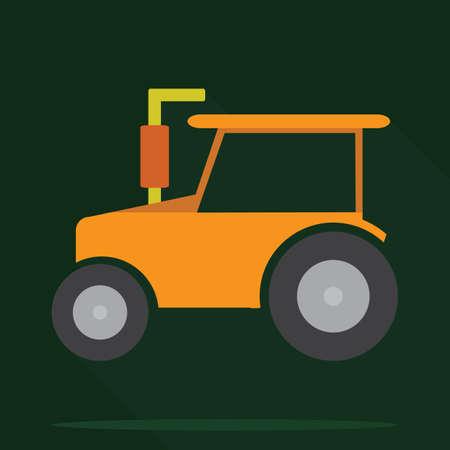 peasant: tractor Illustration