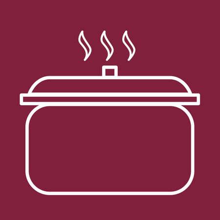 slow cooker Illustration
