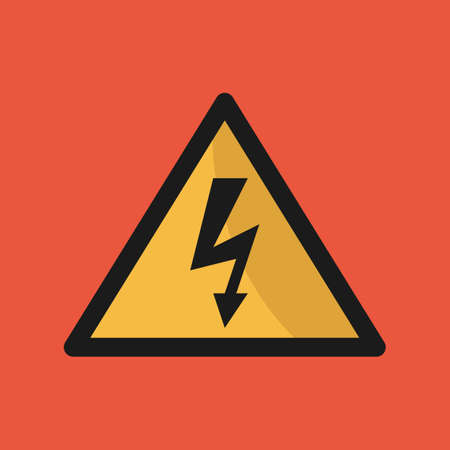 voltage sign: voltage sign Illustration