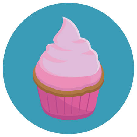toppings: strawberry cupcake
