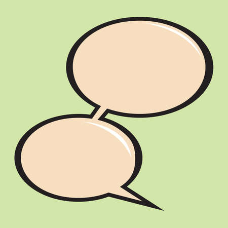 interact: speech bubble