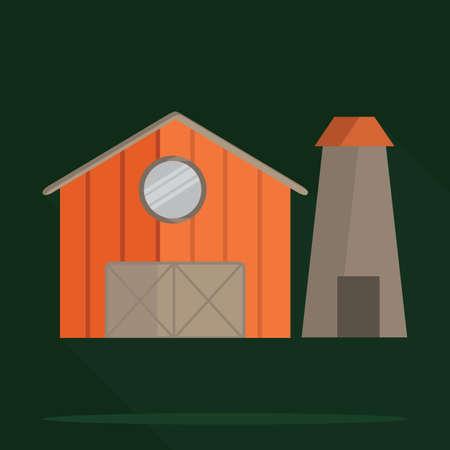 silo: barn house