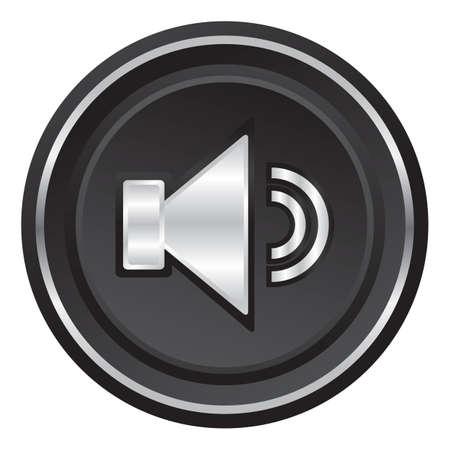 volume: volume web button Illustration