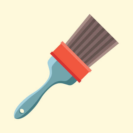 bristles: paint brush