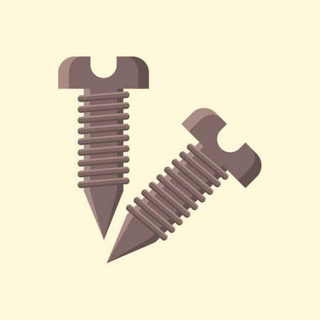 schroeven Vector Illustratie