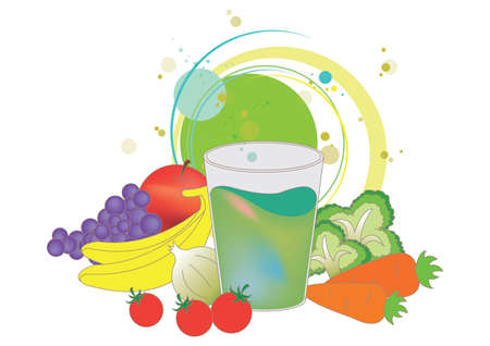 well being: healthy eating concept