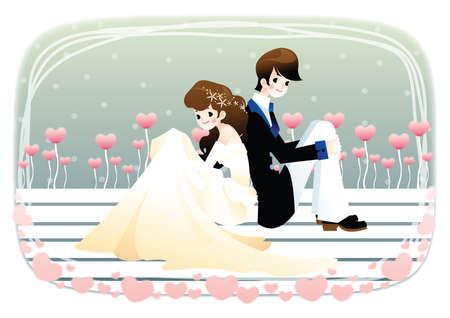 newlyweds: newlyweds pose