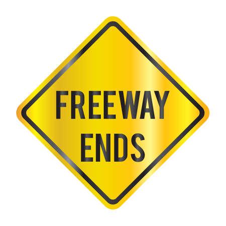 freeway: freeway ends