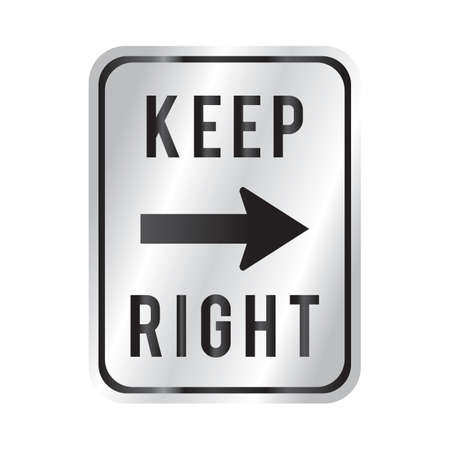keep: keep right