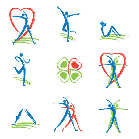 sit up: fitness logo