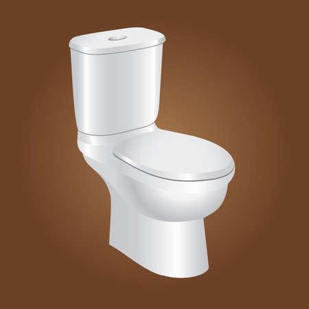toilet bowl Illustration