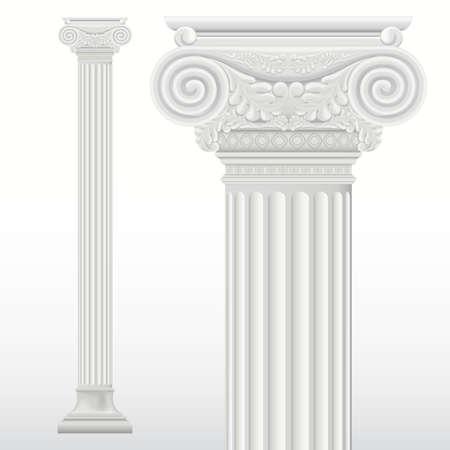 römischen Säule