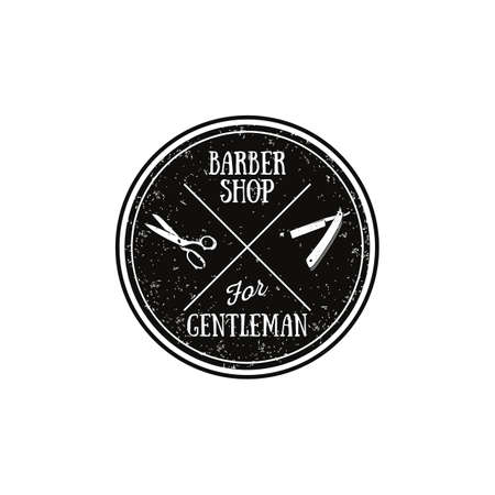 barber: barber label